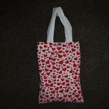 Hearts Valentines Small Gift Bag