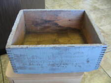 Vintage Remington Small Arms Crate Kleanbore .22 long rifle ammo box