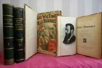 Lot livres. Scandales de Paris -Guerres civiles-Grèce - Ex libris Henry Houssay