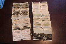Lot of over 200 Color Stereoview Penny Machine Cards Outdoors World NY Chicago