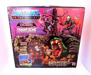 MOTU Masters of the Universe The Evil Horde Fright Zone in the Box dated 1985