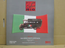 Rio Neuheitenblatt, 2011, italienisch, 4 Seiten