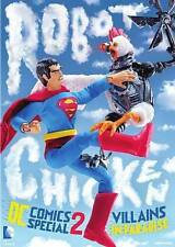 Robot Chicken DC Comics Special 2: Villains in Paradise (DVD, 2014)