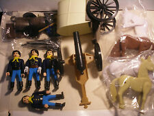 playmobil PLAY BIG AIRGAM BOYS airgamboys NEUF far west Soldat Chariot Cannon