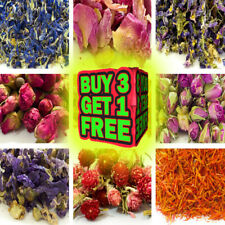 Dried Flowers & Petals 62 Types! Herbal Tea Cooking Garnish Candle Confetti Soap