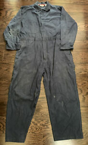 Vintage Walls Blue One Piece Work Farm Suit Hipster Coveralls Mens XL Short vtg