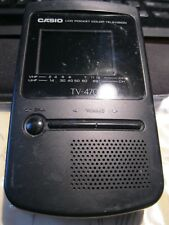 Casio Tv-470 Lcd Pocket Color Tv In Good Condition