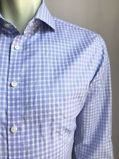 Charles Tyrwhitt Shirt, Lawton Plaid, L (16-1/2, 33), Non-Iron X-Slim Fit, NWOT