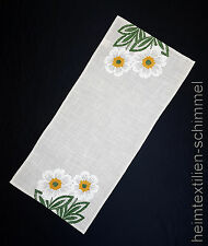 Bordura lino mantel primavera fondos manta flor tischdeckche verano 40x90