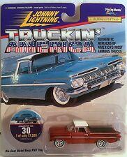 1959 CHEVY EL CAMINO Johnny Lightning Truckin' America #30 1:64 Die-cast MIP!