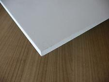 mousse rigide PVC plaque prédécoupé, blanc 1000 x 500 x 10 mm