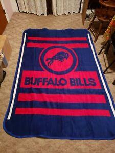 "NFL Buffalo Bills Blanket Plush Throw Measures 54"" x 84"" #2"