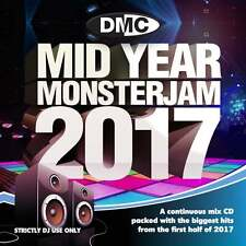 DMC Mid Year Monsterjam 2017 Continuous Megamix January to June 2017 DJ CD