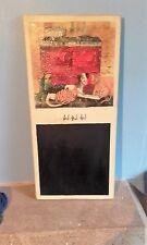 Blackboard Message Board Chalk board Shabby Chic Kitchenalia Unusual Gift Idea