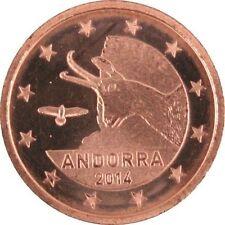 Pièces euro pour 1 Cent année 2014