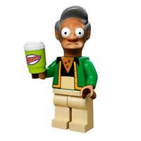 LEGO The Simpsons Apu Nahasapeemapetilon Minifigure 71001