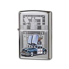 Zippo Car/Building, 28507, High Polished Chrome Finish, Genuine