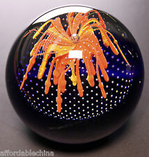 Caithness Glass Scotland Burning Ambition Paperweight