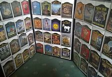 100 Pub Sign Vintage collection, New old stock, unmounted, Original Decals.