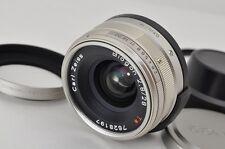 CONTAX Carl Zeiss Biogon T* 28mm F2.8 AF Lens for G1 G2 w/ Hood Filter #170523ao