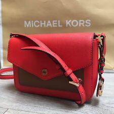 BNWT Gorgeous MICHAEL KORS Greenwich Signature Brown MK bag RRP £210 100%Genuine