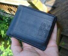 Nice & New Levi's Mens Bifold Leather Black Wallet 31LP220012 Levi Strauss & Co