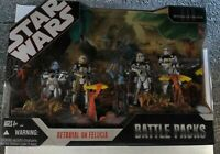 "Star Wars Betrayal on Felucia Battle Packs ""ERROR"" Ayla Secura & clone troopers"