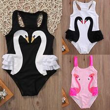 Toddler Baby Kids Girls Tutu Swimsuit Swimwear Ruffle Bikini Skirt Bathing Suit