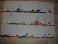 Lot feuilles DIDDL format A5 numéros 19 à 36 inclus