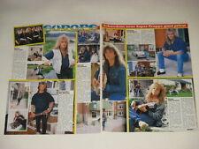 Europe Joey Tempest Norum Cyndi Lauper Kim Wilde cuttings clippings Germany