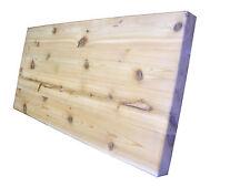 Cedar Edge Grain Butcher Block Cutting Board 30 x 13 x 1.25 inches - Reversible