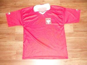 Poland Polska National Team Red Soccer Jersey Men's Medium World Cup FIFA!