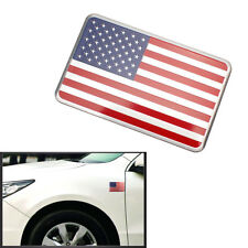 1PCS Metal Emblem Badge Decal Car Fender Side Logo Sticker USA American Flag