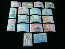Solomon Islands Scott #89-105 Set Mint Never Hinged
