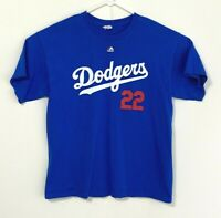 Clayton Kershaw Majestic LA Dodgers men's size XL t-shirt - AlStyle tagged