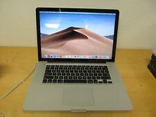 """Apple MacBook Pro 15"""" Mid 2012 Core i7 2.3Ghz 8GB DDR3 256GB SSD Mojave GT650m"""