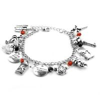 NEW Disney Mickey Mouse Silver Plated Charm Bracelet - Perfect Gift