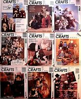 McCall's OOP Crafts Sewing Pattern Stuffed Animals Bears Birds Dolls You Pick