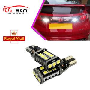 FOR HONDA CIVIC LED REVERSE LIGHT MKVIII MK8 CANBUS ERROR FREE XENON WHITE FN2