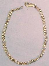 Sterling Silver Link Bracelet Made in Italy Delicate & Lovely Vintage