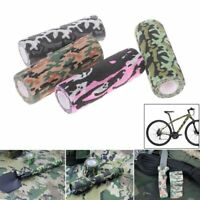15cm*4.5m Camo Elastic Bandage Tactical Shooting Hunting Rifle Wrap Hide Tape