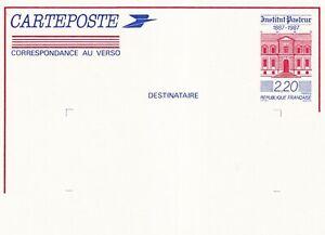 France 1987 Institut Pasteur 2f 20c Prepaid Postal Stationary Card Unused