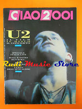 rivista CIAO 2001 33-34/1988 U2 Jesus Mary Chain Hall Oates Jimi Hendrix No cd