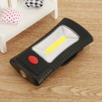 COB 3LED Work Light Flashlight Magnetic Folding Hook Hanging Lamp Non-slip Torch