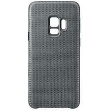 GENUINE Samsung Galaxy S9 Hyperknit Fabric Qi Case Cover Official - Grey NEW