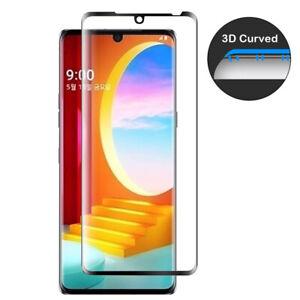 2 pack Tempered Glass Film Screen Protector For LG Velvet 5G 3D Curved Edge new
