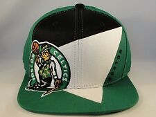 NBA Boston Celtics Adidas Snapback Hat Cap Green Black White