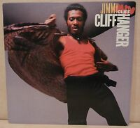 JIMMY CLIFF CLIFF HANGER FC 40002 VINYL LP 1985 PROMO ORIGINAL PLAYS GREAT! VG++