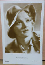 VHTF VTG MARLENNE DIETRICH  POSTCARD 5582/1 BY PARAMOUNT PICTURES