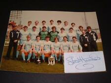 VERY RARE FORFAR Athletic FC 1983-84 champions photo Stewart Kennedy main signed